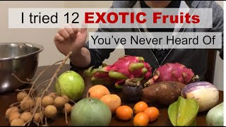 I Tried 12 EXΟTIC FRUITS You've NEVER Heard Of   Chinese Supermarket Tour   BEST Tasting Fruit is...