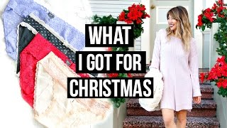 What I Got For Christmas 2016! Target, Victoria's Secret, Aerie Haul!