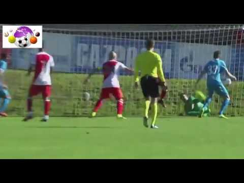 Зенит Монако обзор матча 19 07 2016. Zenit Monaco match review