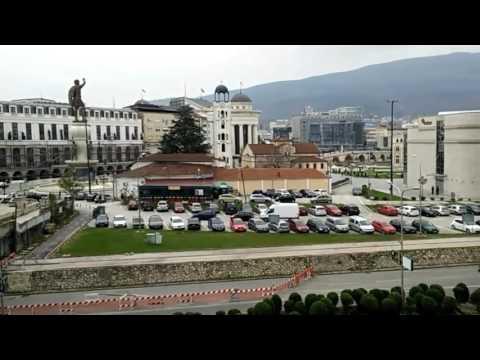 """""""Dobro Utro Skopje"""" (Goodmorning Skopje) - Timelapse video life and traffic in Skopje, Macedonia"""