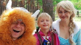 Маргарита и Мама Принцесса Дисней – Забавная Встреча / Margo and Mom Princess Disney Video for kids
