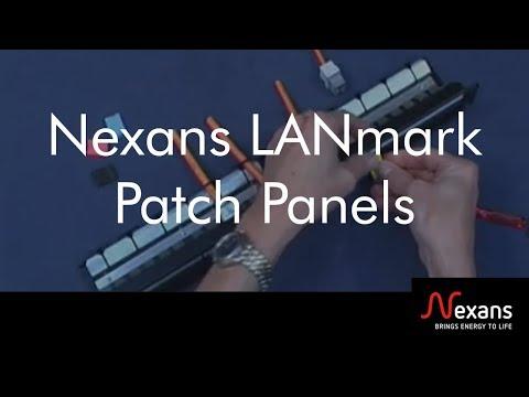 LANmark-8 Patch Panels - Nexans
