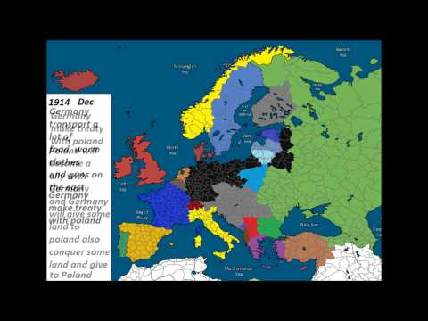 "Alternate History of Europe - Part 1 ""Germany vs Russia"""