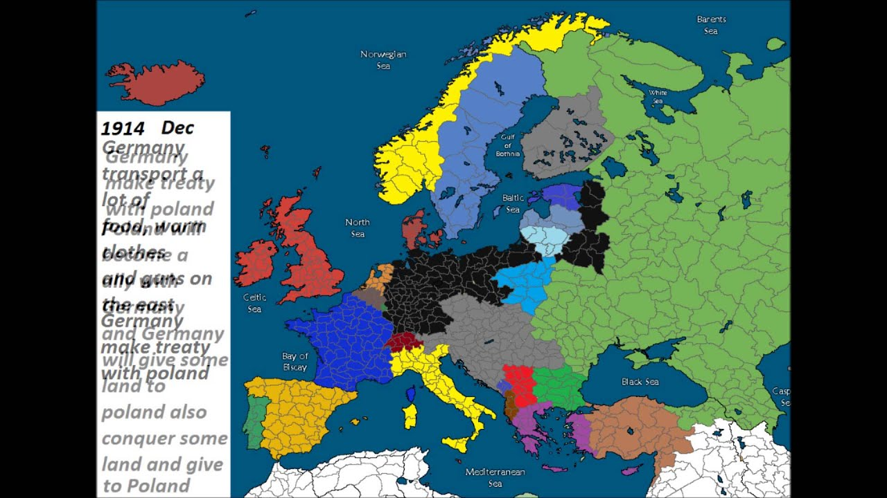 Alternate History of Europe  Part 1 Germany vs Russia  YouTube