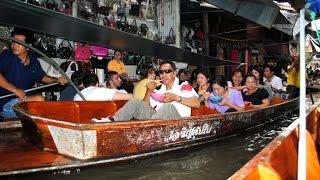 Рынок на воде. Thailand