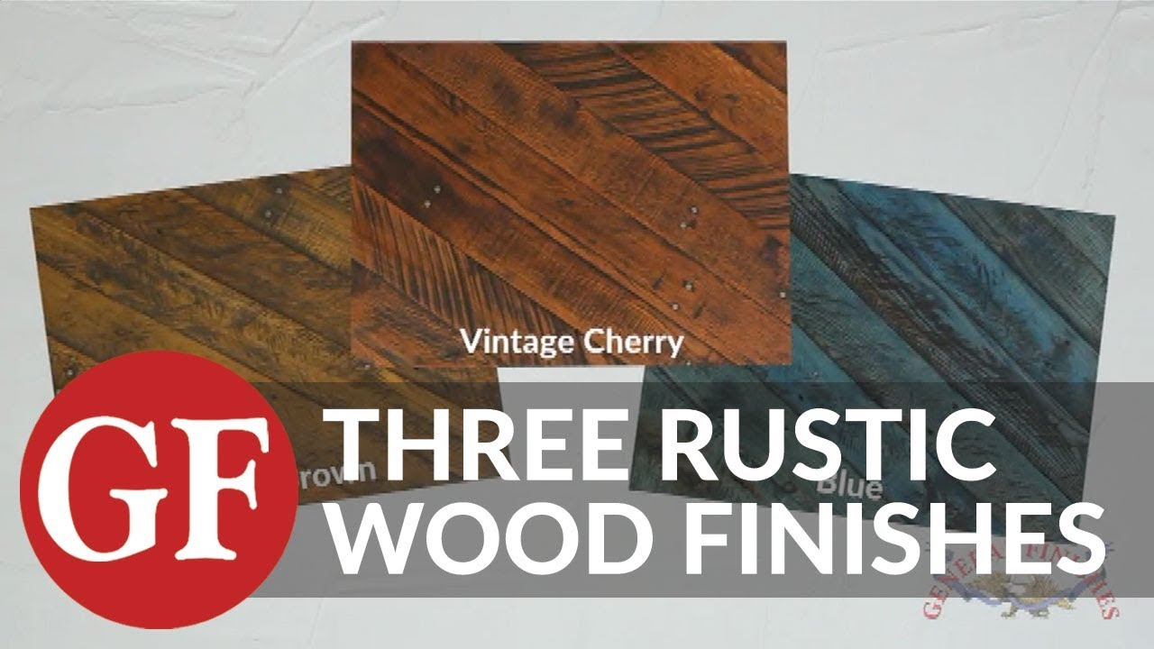 Get the look 3 rustic wood finishes by distressing water based wood dye stains