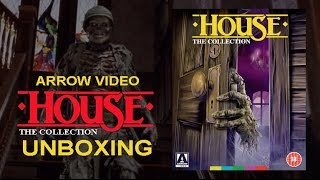 House - The Collection - Arrow Video Blu Ray & DVD Unboxing