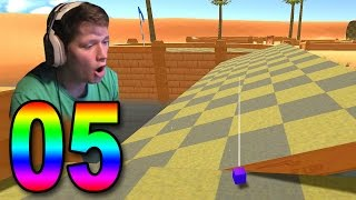 Golf with Your Friends - Part 5 - MY BALL IS A CUBE?!