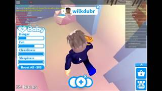 ROBLOX: Playing adopt me plus my friend