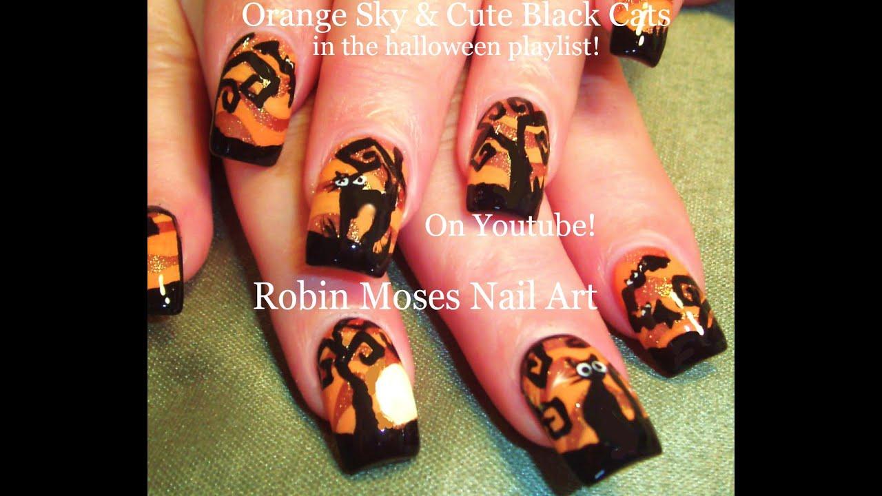 Nail art tutorial diy easy halloween nails cute black cats nail art tutorial diy easy halloween nails cute black cats youtube prinsesfo Gallery