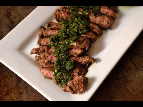 Marinaded Skirt Steak & Chimichurri Sauce | Cosori Vacuum Sealer Demo & Giveaway!