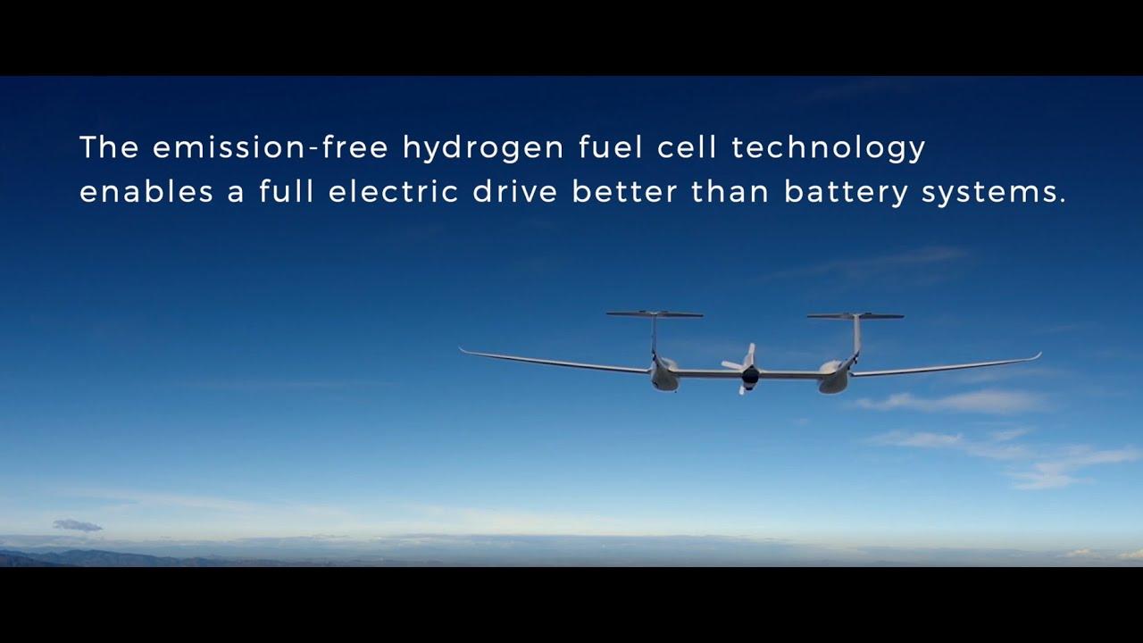氢燃料电池驱动的HY4飞机起飞