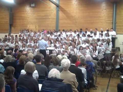 Lady Manners School Senior Choir perfoms a medley of WALKING SONGS ...