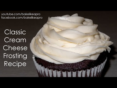 MINI RECIPE - EASY NO FAIL Cream Cheese Frosting Recipe