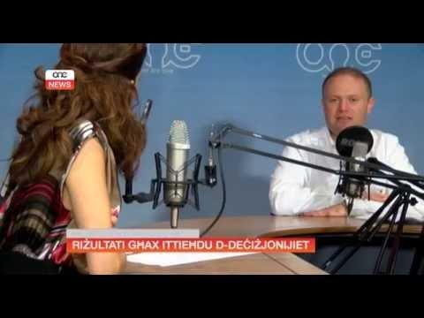 RIŻULTATI GĦAX ITTIEĦDU D-DEĊIŻJONIJIET - JOSEPH MUSCAT