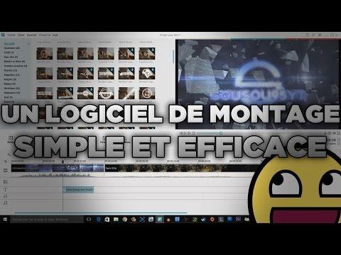 Un logiciel de montage vidéo simple et efficace !