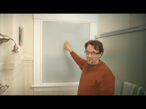 Indow window inserts - Bathroom Window Privacy