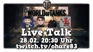 Ankündigung | World of Tanks 1.0 Talk Stream| 28.02. 20:30 Uhr |