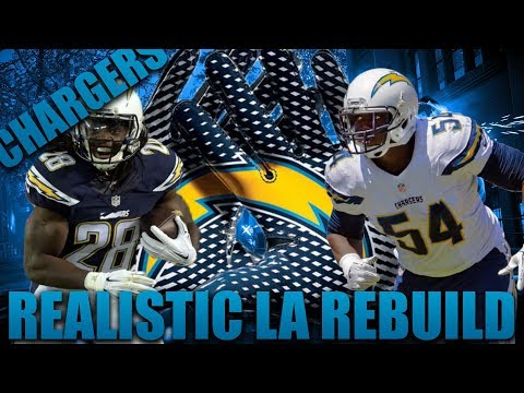 Realistic Rebuild of the LA Chargers! | Madden 18 Franchise! Rivers is the Goat!?