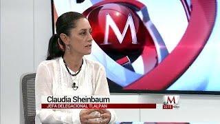 Entrevista a Claudia Sheinbaum, aspirante a la jefatura de Gobierno de la CdMx