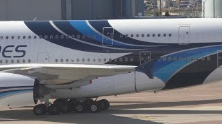 Malaysia Airlines A380 Diversion to Manchester MH3 Departure direct KL with ATC