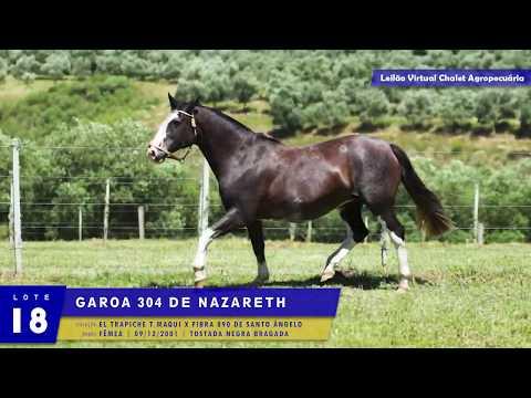LOTE 18 - Garoa 304 de Nazareth