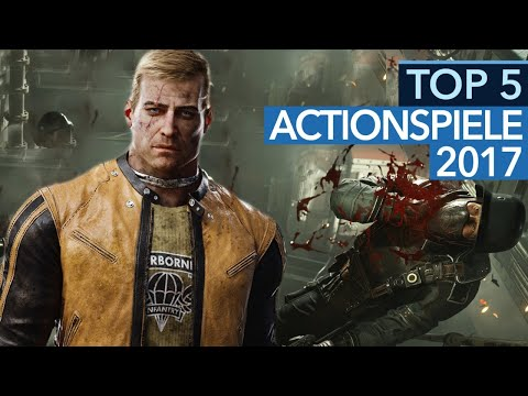 Top 5 - Die besten Actionspiele 2017 nach GameStar-Wertung (Gameplay)