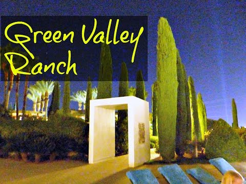 Quick TOUR of Green Valley Ranch after placing our BETS!