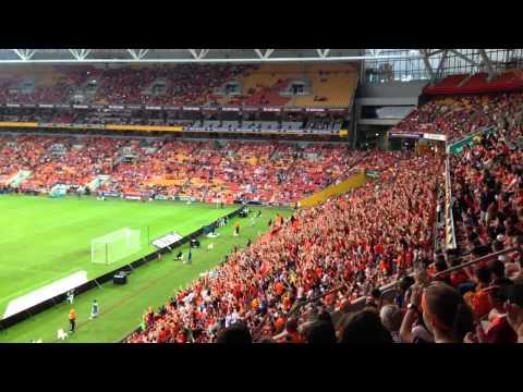 "Brisbane roar ""who are we"""