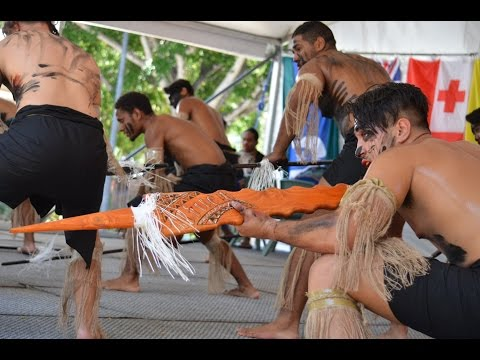 Niue Island Dances at the Pasifika Townsville 2016 - Part One