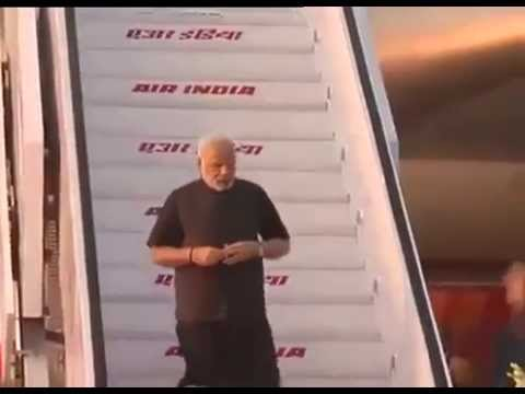 PM Modi arrives in Delhi
