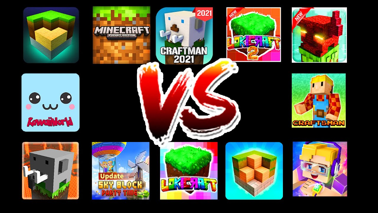 Minecraft PE VS All Copies (Android)