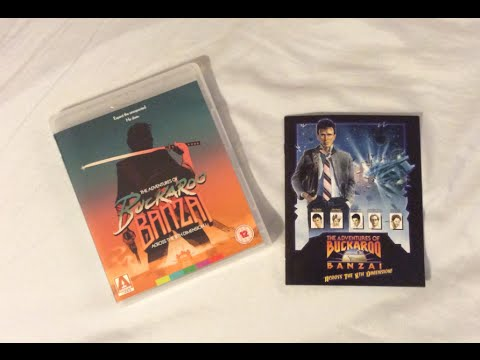 The Adventures of Buckaroo Banzai - Arrow Video (1984) Blu Ray Review and Unboxing