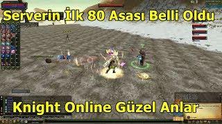 Deruvish Slotunda 80 Level Olan Serverin İlk Asası! Knight Online Güzel Anlar | Bölüm 14