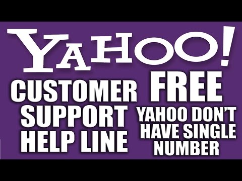Yahoo! Customer Support is Always Free of Charge - Yahoo Mail Customer Support Number