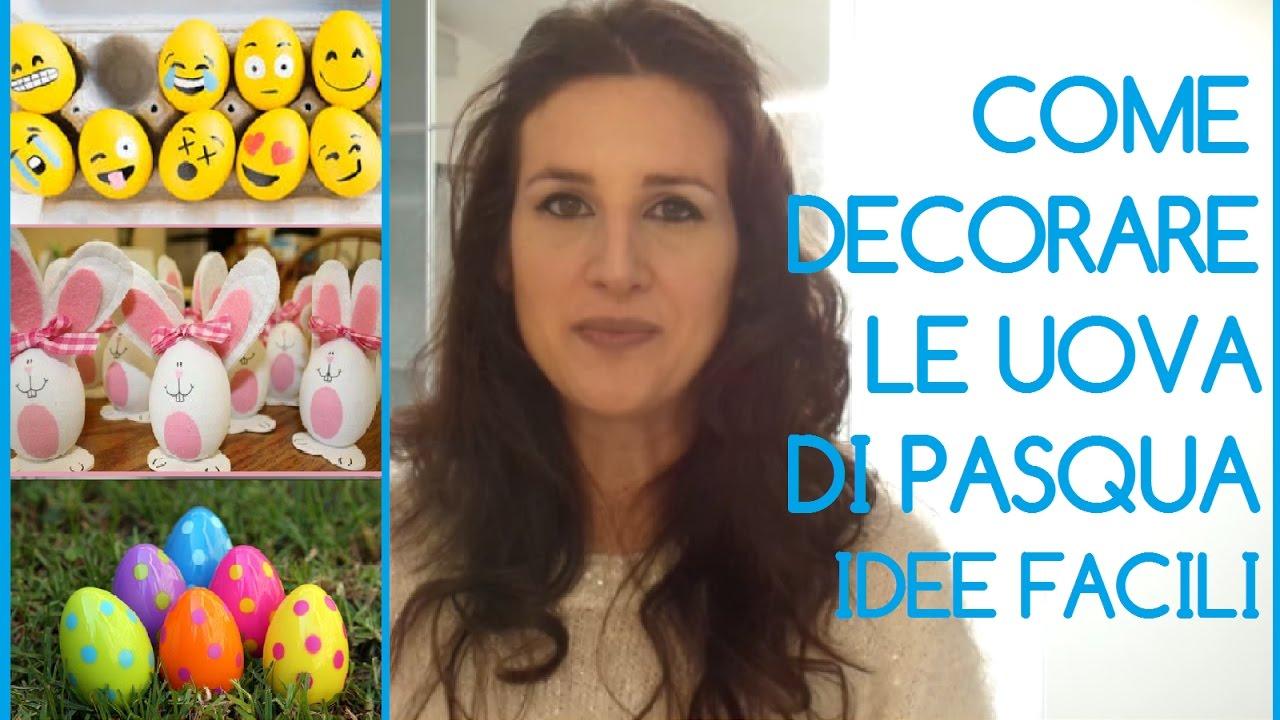Idee facili per decorare le uova di pasqua in modo originale per stupire amici e parenti youtube - Decorare le uova per pasqua ...