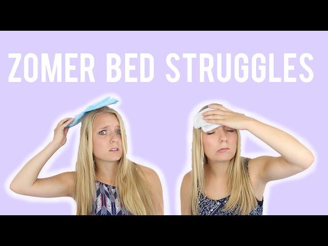 Zomer bed struggles - Tips |  Girlsworldproblems