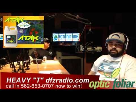 Heavy T's Grow Show #204 The Unkown Grower July 8, 2015 Part 1