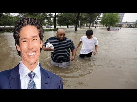 Joel Osteen Receives Major Backlash After Not Opening Lakewood Church To Houston Flood Victims