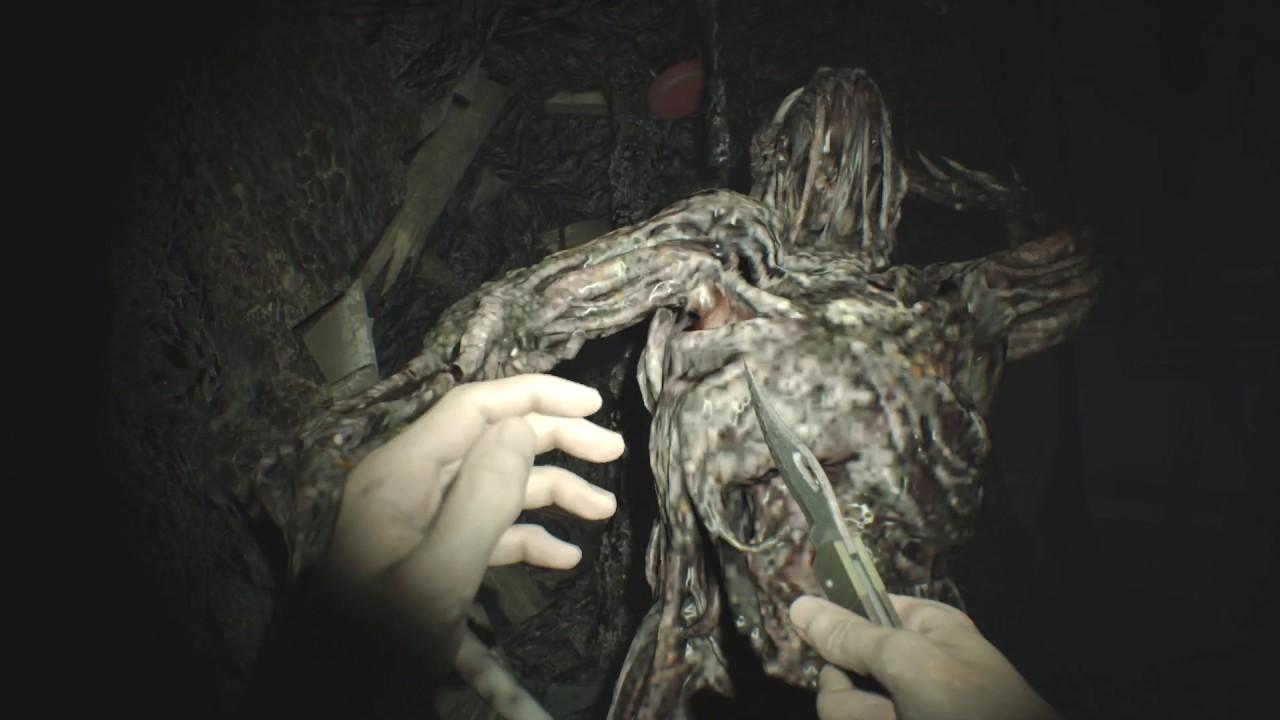 Resident Evil 7 Find Secret Door In Evelyn Room Get The Arm Youtube