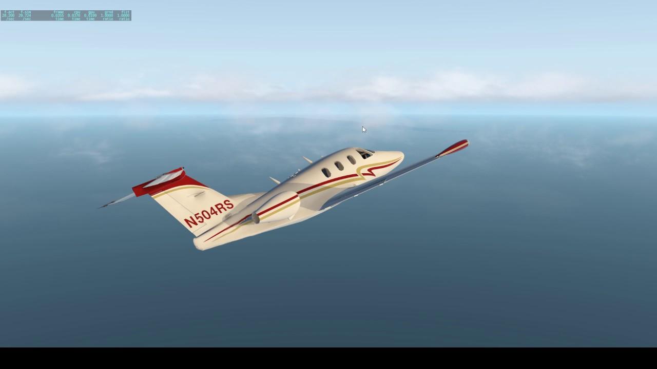 [X-PLANE 11] - Intro to X-Plane and freeware Eclipse 550