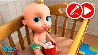 Джони Джони | Johny Johny Yes Papa | LooLoo Kids - Песенка + Караоке на русском