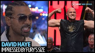 """Fury looks like a new man!"" David Haye changes his mind on Wilder v Fury 2 after weigh-ins!"