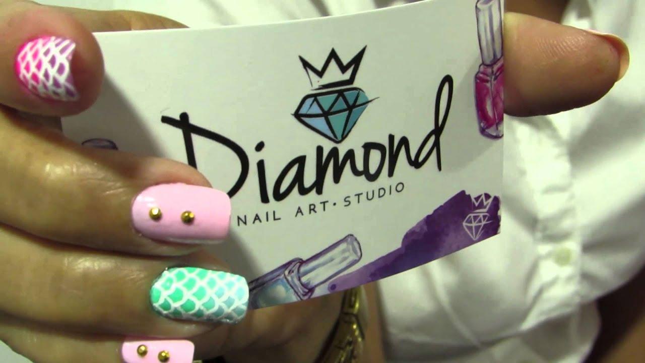 Diamond NailArt Studio Barranquilla - YouTube
