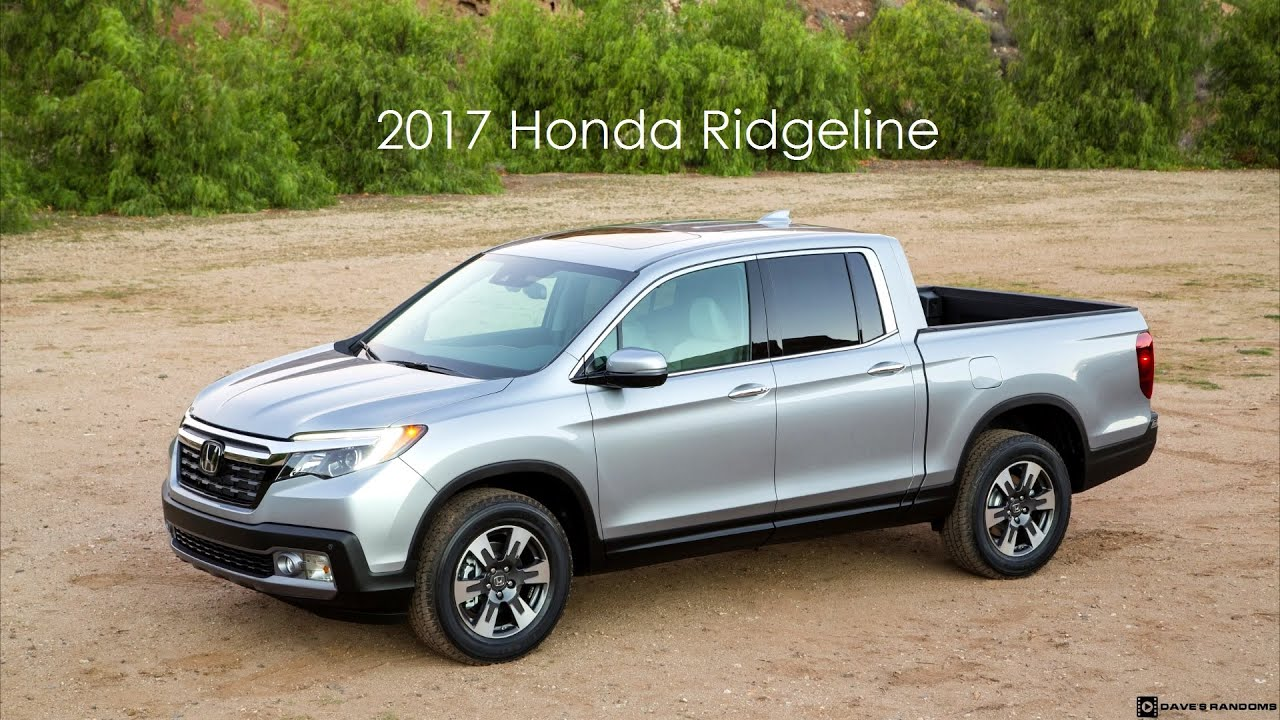 2017 Honda Ridgeline Exterior & Interior Shots - YouTube