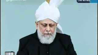 KHUTBA JUMA FROM NORWAY NEW MOSQUE 30-9-2011 PERSENTING KHALID QADIANI_clip2.flv