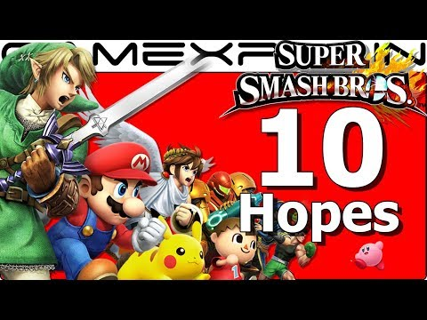 Top 10 Hopes for Super Smash Bros. Switch (1 Year of Switch!)