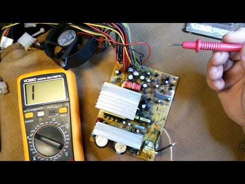 Как отремонтировать компьютерный блок питания Power Master FA 5 1 300w