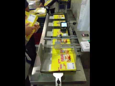 MESIN AUTOFEEDER + MESIN CODING PRINTJET UNTUK INNER BOX / DUS / CARTOON - PT. PACKINDO CAHAYA ABADI