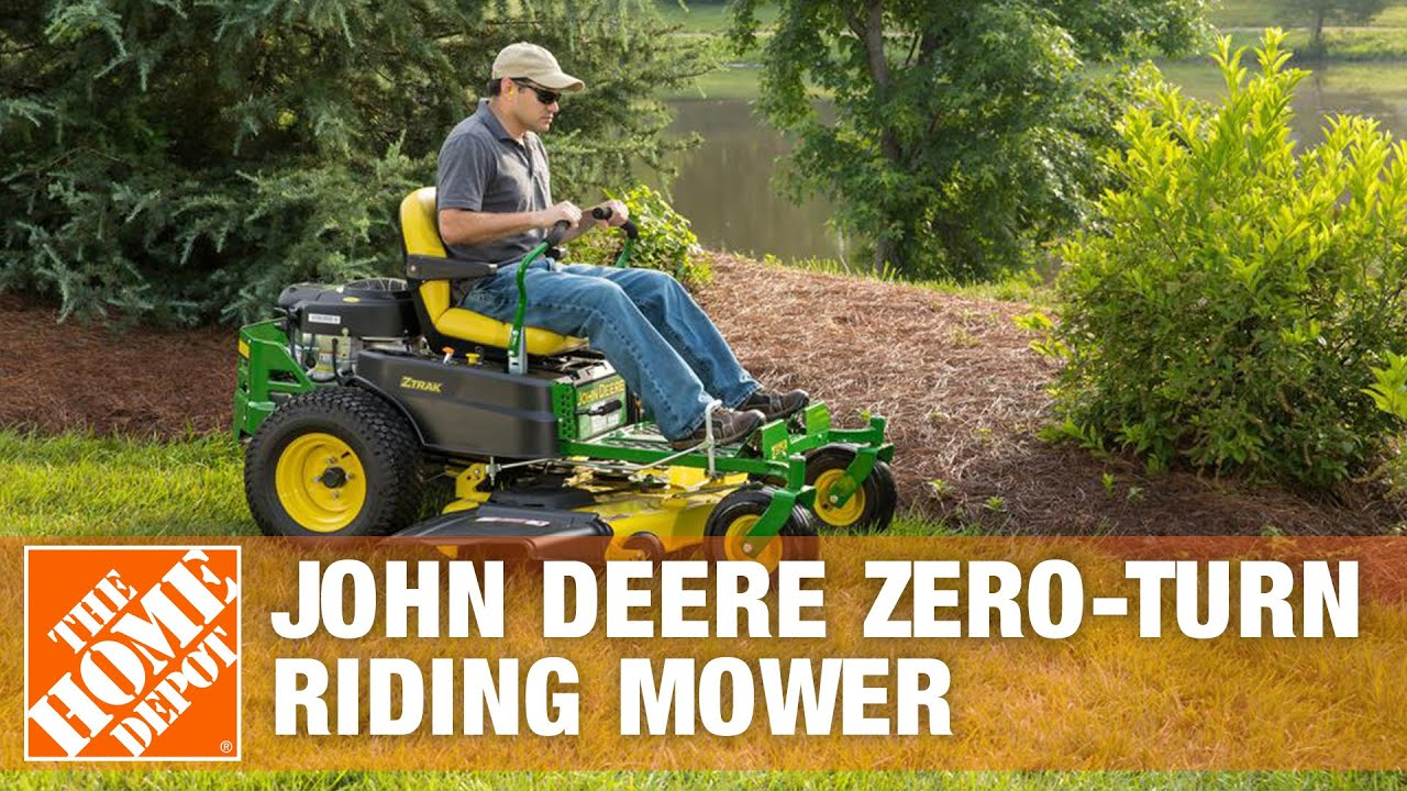 John Deere 54 in 23 HP V Twin Hydrostatic Zero Turn Riding Mower